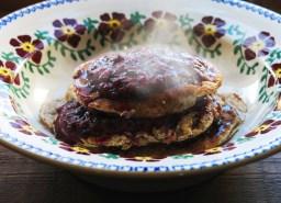 Spelt, Coconut Flour and Walnut Pancakes