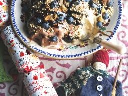Double Choc IceCream Sundae – Vegan Christmas